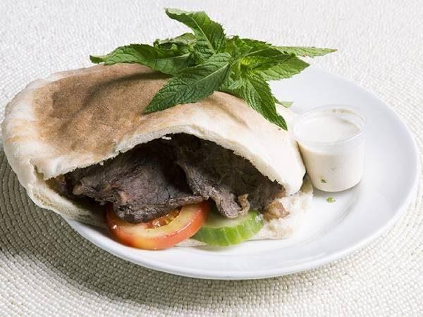Beef Kabob (pita or wrap)