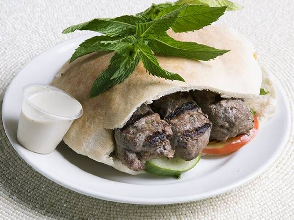 Beef Kufta (pita or wrap)