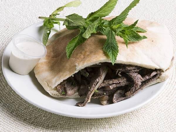Beef Shawarma (pita or wrap)