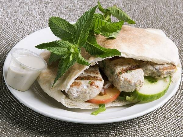 Chicken Kufta (pita or wrap)