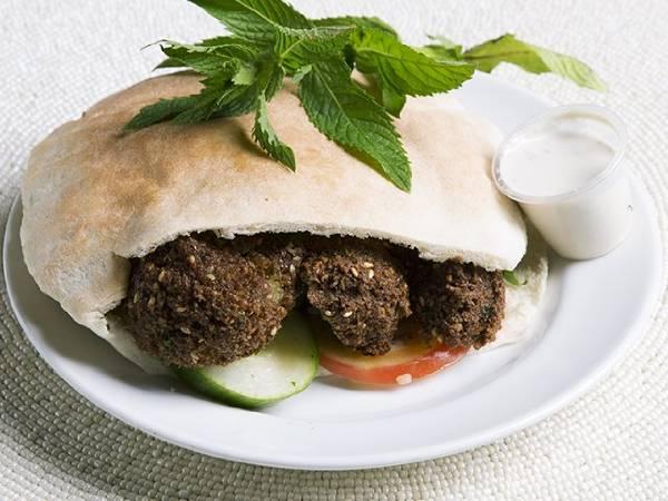 Veggie Falafel (pita or wrap)